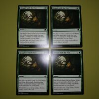 Grapple with the Past x4 Eldritch Moon 4x Playset Magic the Gathering MTG