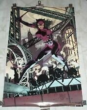 1993 Catwoman Poster 24x35  DC Comics Super Rare NEW IN PACKAGING Jim Balent