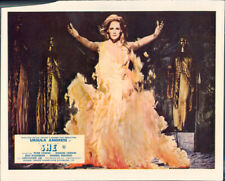 Ursula Andress as She original lobby card standing in front of eternal flame