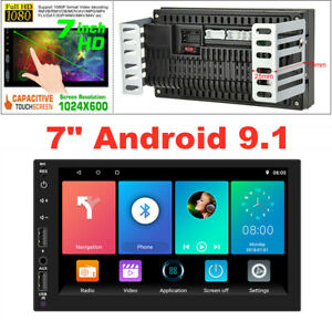 """7"""" Touch Screen Android 9.1 Car GPS Radio Stereo Video MP5 Player Wifi 2G+32G"""
