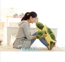 1pcs 49CM Big Plush Green Turtle Giant Large Stuffed Soft Plush Toy Doll Pillow