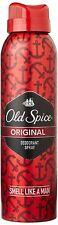 OLD SPICE Original Deo Deodorant Body Spray 150ml - Smell Like a Man