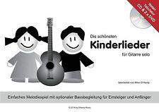 Die schönsten Kinderlieder NOTEN-TAB-CD- 2xDVD, für Kinder ab 4 Jahre, Gitarre