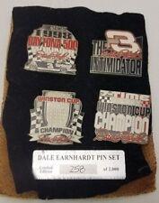 DALE EARNHARDT - 1998 DAYTONA 500 CHAMPION NASCAR Ltd Ed PIN SET 258/2000