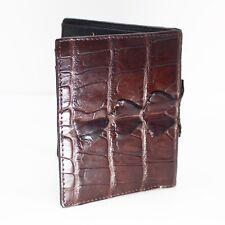GENUINE CROCODILE Leather Skin MEN'S BIFOLD WALLET #NW2803