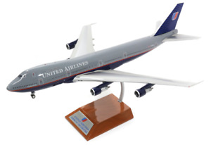 J.Fox JFox Models JF-747-1-001 1:200 Scale Boeing 747-100 United Airlines N4716U