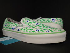 d87c41a3f4b 2006 VANS CLS Classic Slip-on LX Marc Jacobs Aliens White Green Blue Pink 9