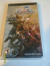 Final Fantasy Tactics: The War of the Lions (Sony PSP, 2007) - Black Label