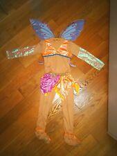 Costume di Carnevale Winx taglia 7-9 anni  compresa di ali