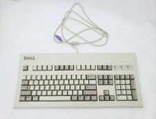 Dell AT101W Beige Keyboard - tested/working Black Alps A1