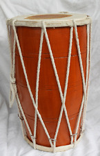 South Asian Rope Dholak Two Handed Drum - Hand Made - New Item