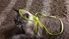 Nylon Cat Harness & Leash Set Pet Kitten Small Dogs Nylon Strap Belt Harnesses
