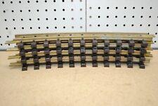 LGB 1100 (11000) x 4 Curved Brass Track 30° r600mm R1 *G-Scale*
