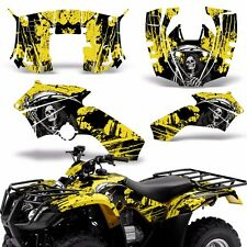 Graphic Kit Honda Recon ES Fourtrax ATV Quad Decals Sticker Wrap 05-14 REAP YLLW