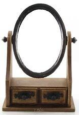Spiegel - Schminkspiegel auf Holzkasten - Dressing Mirrow -