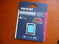 PATRIOT - 64GB 64 GB SDXC SD XC CLASS 10 for Nikon D3200 Canon EOS DSLR