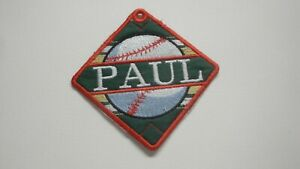 Personalized Bag Tag-Baseball-Embroidered with Your Name-Great Gift Idea