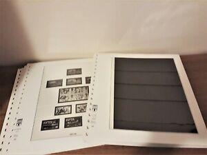 60 Lindner T Stamp Album Pages