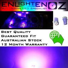 2 x PURPLE EnlightenOz T10 LED Parker Bulbs - Falcon BA BF FG - XR6 XR8 G6 XR6T