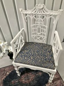 Sale!!!!!!!Antique Chinese Chippendale Fretwork Chair Chinoiserie