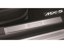 Genuine OEM 2006-2015 Mazda MX-5 Miata Door Sill Trim Plates