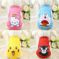 Small Pet Dog Cute Clothes Fashion Costume Vest Puppy Cat T-Shirt Summer Apparel