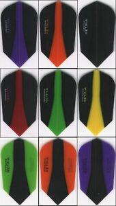 6 PACK OF HARROWS SLIM RETINA Dart Flights: 6 sets