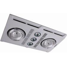 Martec Profile Plus Bathroom Heater 2 x 275W Heat Lamps Exhaust & Light White
