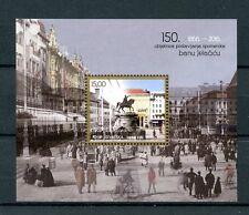 Croatia 2016 MNH Ban Josip Jelacic Statue 150th Anniv 1v M/S Architecture Stamps