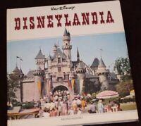 Disneyland 1967 Book DISNEYLANDIA Italian Mondadori Haunted Mansion Walt Disney