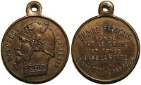 "jeton/médaillette satyrique Sedan 1870, Napoléon III ""Napoleon Le Petit"" [...]"