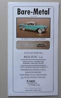 6 x 11 Thin Sheet MATTE ALUMINUM 1:24 1:25 BARE METAL FOIL CAR MODEL ACCESSORY