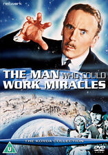 DVD:THE MAN WHO COULD WORK MIRACLES - NEW Region 2 UK
