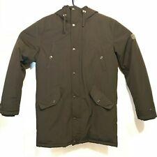 Ben Sherman Hooded Parka Long Jacket Mens Medium Black Coat - Excellent! EUC