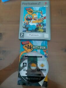 The Simpsons: Hit & Run -- Platinum (PlayStation 2, 2004) with manual