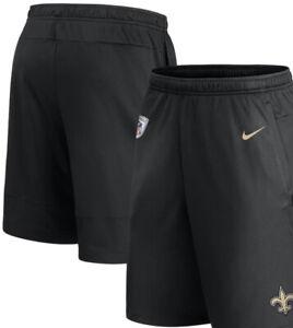 Nike New Orleans Saints On Field Therma Shorts XL Black Tech Fleece 886220-010