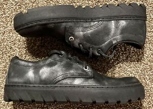 Wolverine Mens 1000 Mile Combat Low Leather Shoes, Made in USA, Sz 8, Vibram New