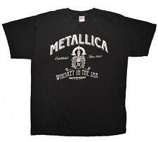 Metallica Whiskey In The Jar Tee Mens Size Large Black 2005 T-Shirt euc