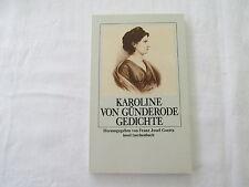 Günderode, Karoline von : Gedichte / Franz Josef Goertz, Hrsg. / Insel-Verlag