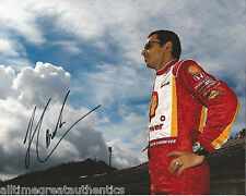INDY CAR HELIO CASTRONEVES SIGNED 8X10 PHOTO INDIANAPOLIS 500 CHAMPION 2 W/COA