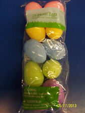 Fillable Plastic Eggs Egg Hunt Easter Holiday Party Decoration Favors - Pastel