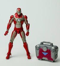 """Marvel Universe Iron Man 2 Mark V 4"""" Figure 2010 Suitcase Hasbro Avengers"""