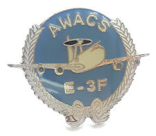 AWACS E-3F Royal Air Force Lapel Pin Badge *Official*