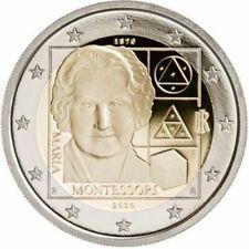 2 Euro Gedenkmünze Italien 2020 - 150. Geburtstag von Maria Montessori