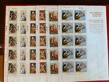 GUERNSEY 2009 MNH SHEETLETS x 6 HENRY VIII 8TH