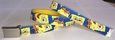SpongeBob Squarepants Children's Belt & Buckle Kids Yellow Accessory Nickelodeon