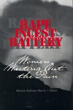 Rape, Incest, Battery: Women Writing Out the Pain