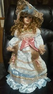 Large Vintage Victorian Porcelain Doll - Show Stoppers - EXTREMELY RARE A3