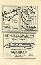1924 St Davies Oldfield Tyres Laystall Southwark Ad