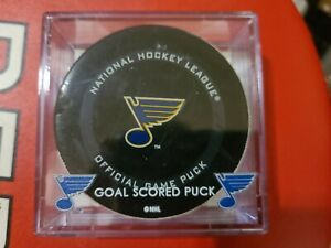 Ivan Barbashev St. Louis Blues Goal Scored Puck